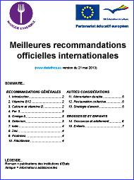 compilation des meilleures recommandations nationales