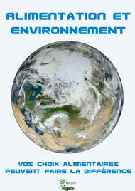 brochure sur le véganisme et l'environnement