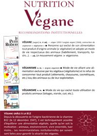 brochure nutrition végane
