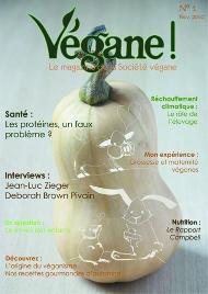 archive magazine 1 de la société végane française